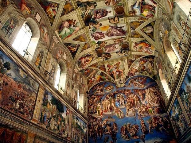 Vi accompagno all'interno della Cappella Sistina