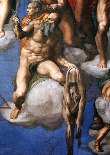 Michelangelo,_Giudizio_Universale_31