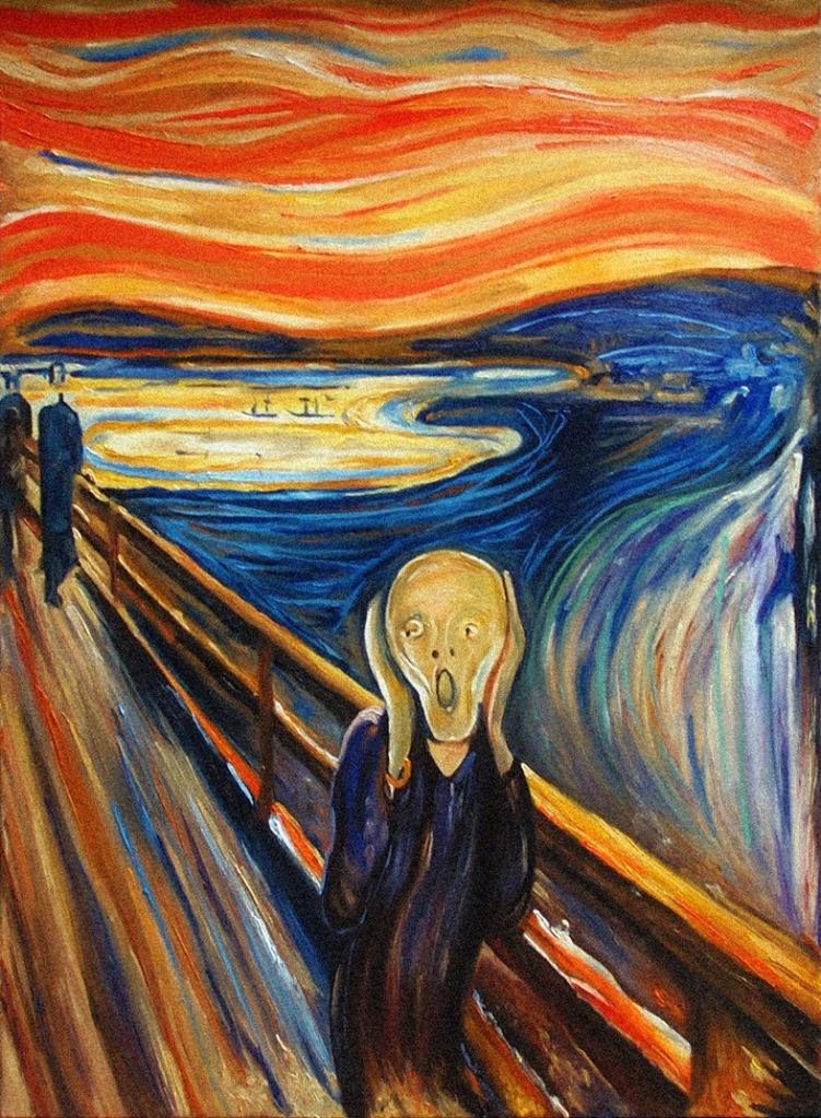 Risultati immagini per uomo che urla disegno