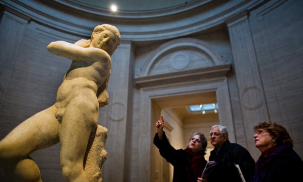 Michelangelo's David-Apollo on display at National Gallery of Art