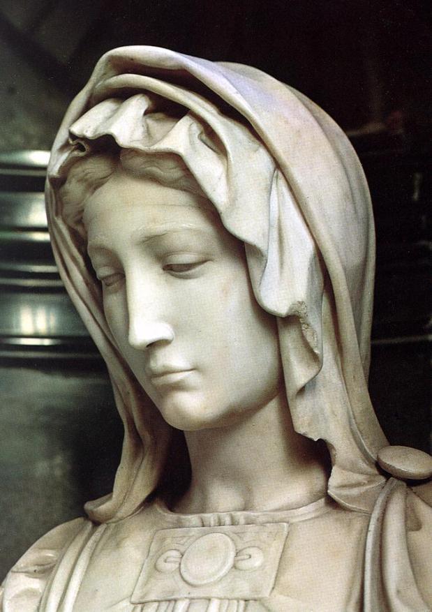 Michelangelo Buonarroti 1475 - 1564 - La Madonna di Bruges 1503-1505 - Tutt'Art@ (3)