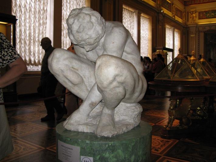 Michelangelo-Buonarroti-Crouching_Boy-2-Hermitage