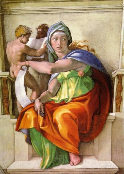 Michelangelo - Sibilla delfica