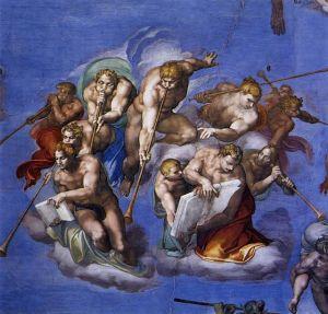 Michelangelo,_Giudizio_Universale_06