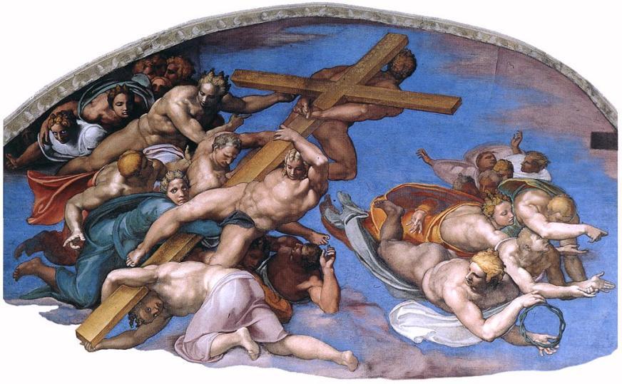 Michelangelo,_Giudizio_Universale_11