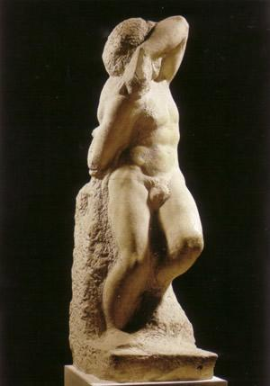 Michelangelo-Buonarroti-Lo-schiavo-giovane