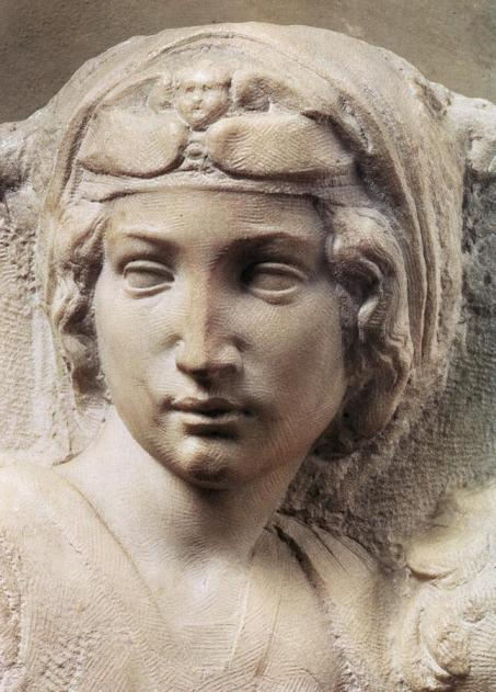 michelangelo-buonarroti-madonna-(tondo-pitti)-detail