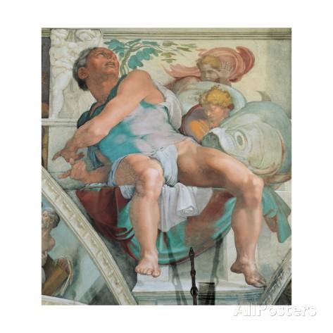 michelangelo-buonarroti-sistine-chapel-ceiling-prophet-jonah