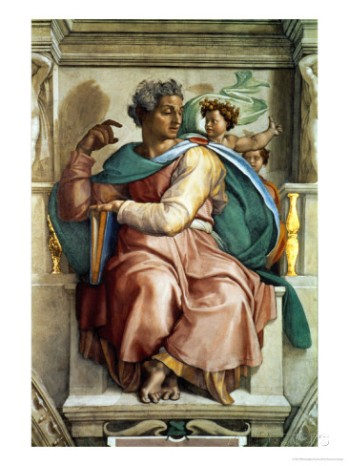 michelangelo-buonarroti-the-sistine-chapel-ceiling-frescos-after-restoration-the-prophet-isaiah