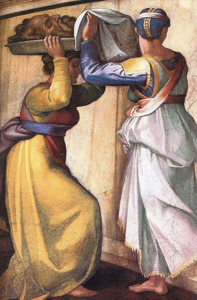 Michelangelo,_Judith_and_Holofernes_02