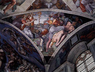 400px-Michelangelo,_Brazen_Serpent_02