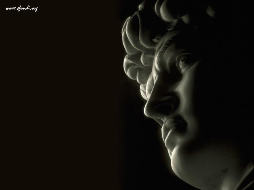 DAVID di Michelangelo - Particolare - Museo dell'Accademia - JPEG