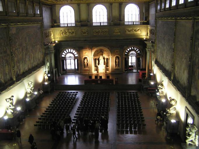 Il-Salone-dei-Cinquecento-Palazzo-Vecchio-Firenze-Italia.-Author-and-Copyright-Marco-Ramerini.