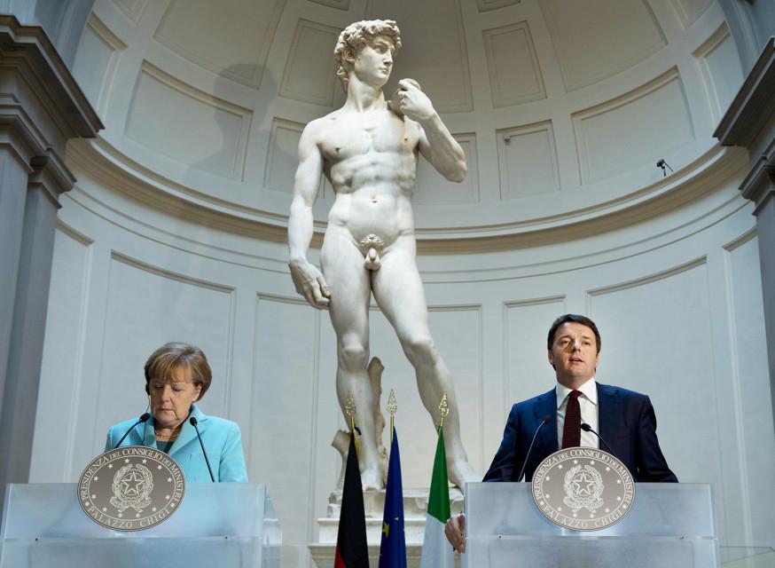 Renzi - Merkel (10)