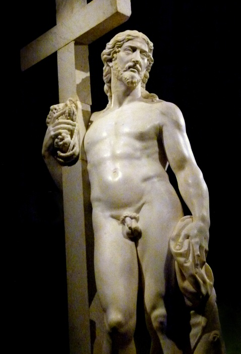 Michelangelo-Cristo Risorto-1st-version