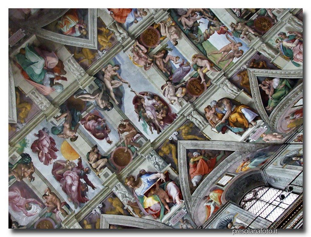 Risultato immagini per spiegazione cappella sistina