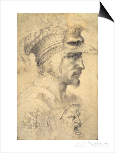 michelangelo-buonarroti-ideal-head-of-a-warrior