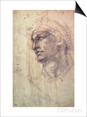 michelangelo-buonarroti-study-of-a-head-charcoal-inv-1895-9-15-498-w-1
