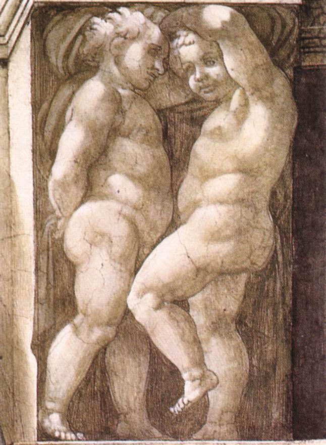 Michelangelo,_Putti_02