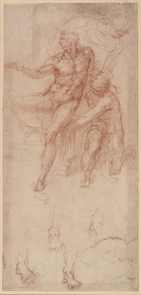 Michelangelo Buonarroti - Studi della figura