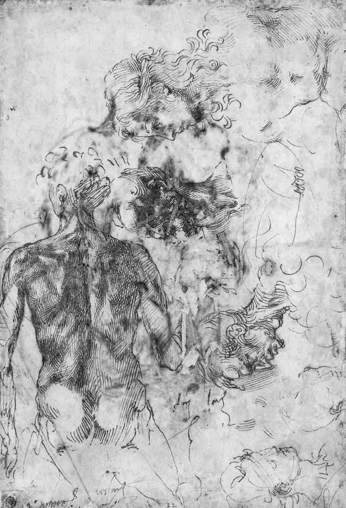 Michelangelo Buonarroti - studio della figura 1