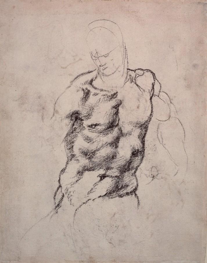 Michelangelo Buonarroti - Studio della figura 3