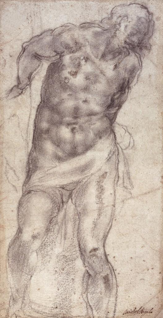 Michelangelo Buonarroti - Studio della figura