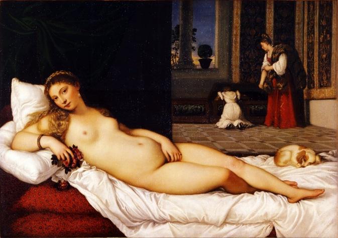 Manet - Tiziano - Venere di Urbino