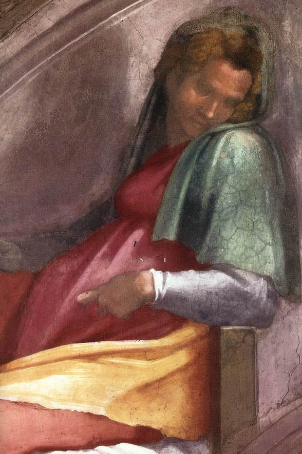 Michelangelo,_lunetta,_Rehoboam_-_Abijah_02