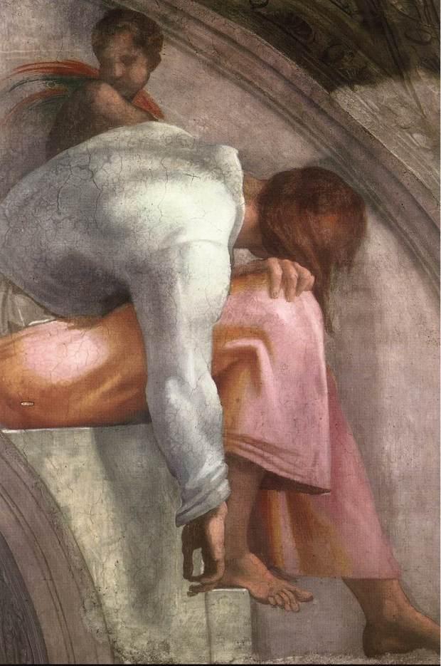 Michelangelo,_lunetta,_Rehoboam_-_Abijah_03