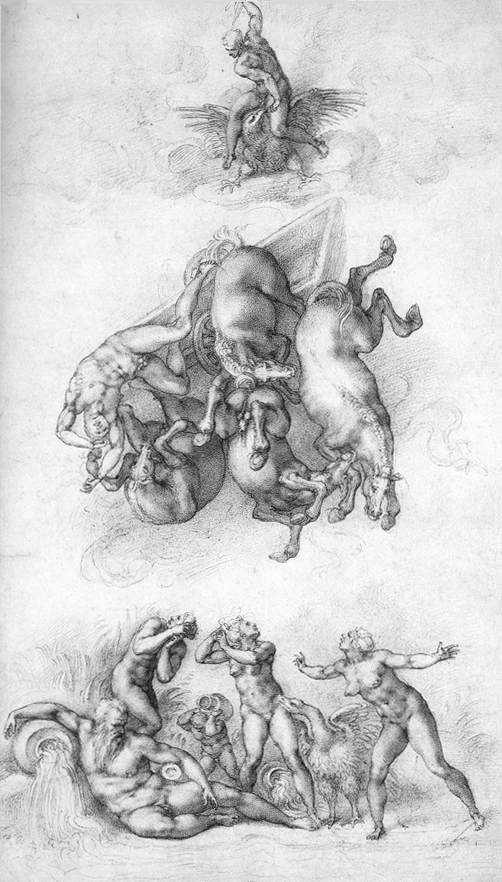 Michelangelo,_Fall_of_Phaeton_01