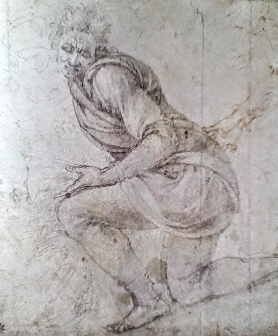 studio figura Pietà Warwick