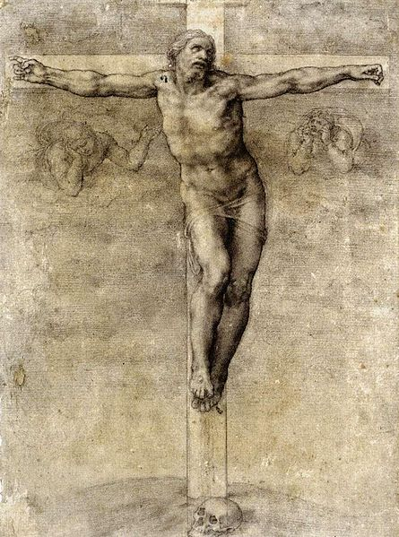 445px-Michelangelo_Buonarroti_-_Christ_on_the_Cross_-_WGA15516