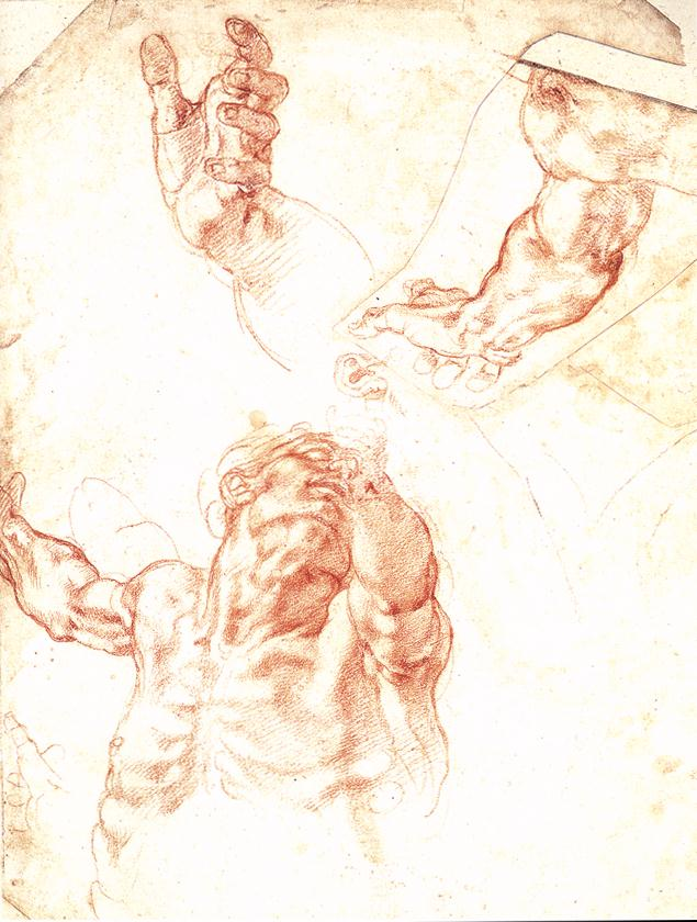 Michelangelo,_Study_for_Haman
