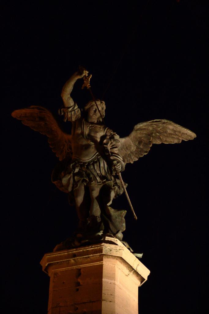 Peter Anton von Verschaffelt arcangelo michele castel sant'angelo.jpg