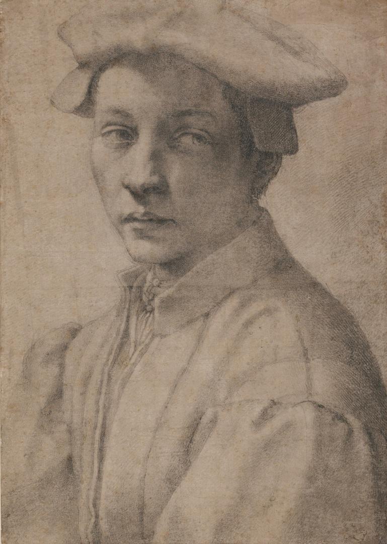 11.-Michelangelo_Portrait-of-Andrea-Quaratesi_British-Museum_London