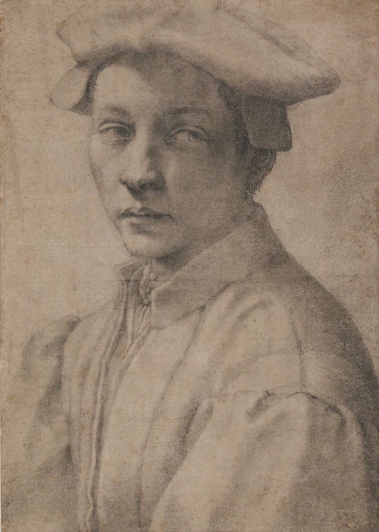 11.-Michelangelo_Portrait-of-Andrea-Quaratesi_British-Museum_London