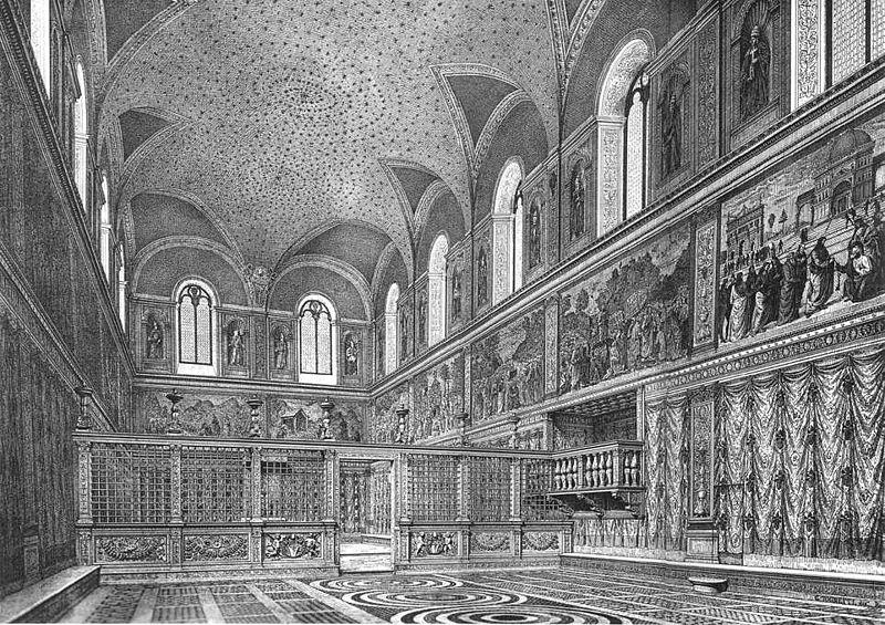 800px-Cappella_sistina,_ricostruzione_dell'interno_prima_degli_interventi_di_Michelangelo,_stampa_del_XIX_secolo.jpg