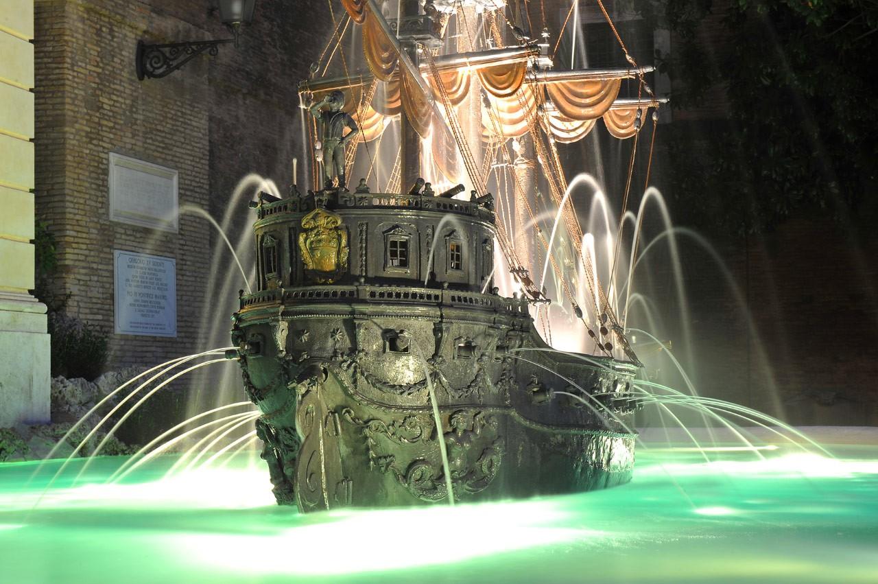 la fontana della Galera  giardini vaticani.jpeg