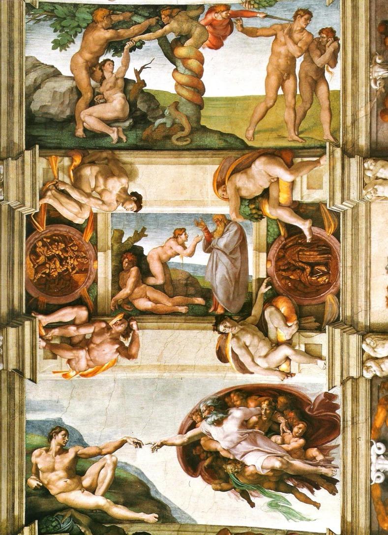 Cappella Sistina particolare della volta.JPG