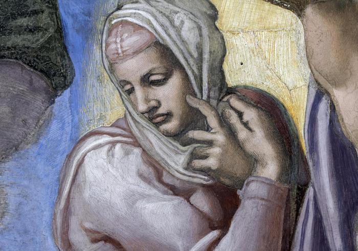 La Vergine del Giudizio Universale