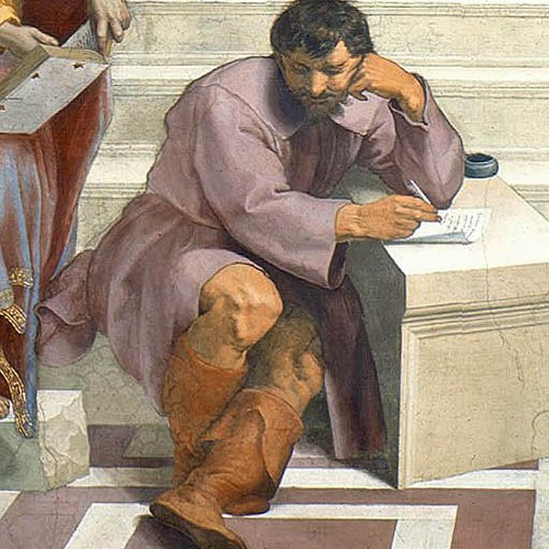 Io come Eraclito nella Scuola di Atene – Michelangelo Buonarroti è ...