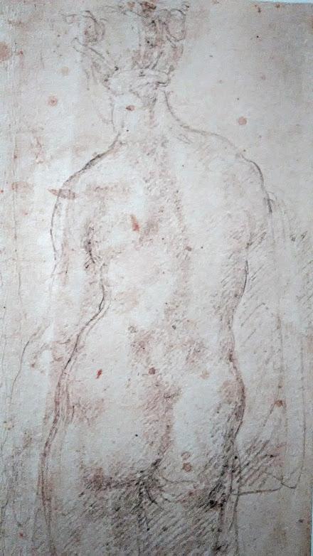 Il nudo di donna visto di schiena – Michelangelo Buonarroti è tornato